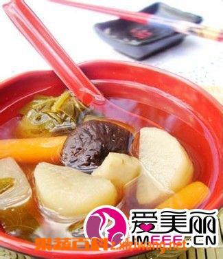 果蔬百科五行蔬菜汤做法